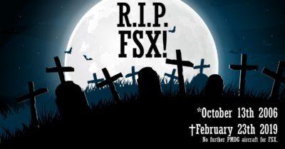 PMDG ends FSX support
