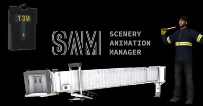 Stairport Sceneries SAM Scenery Animation Manager
