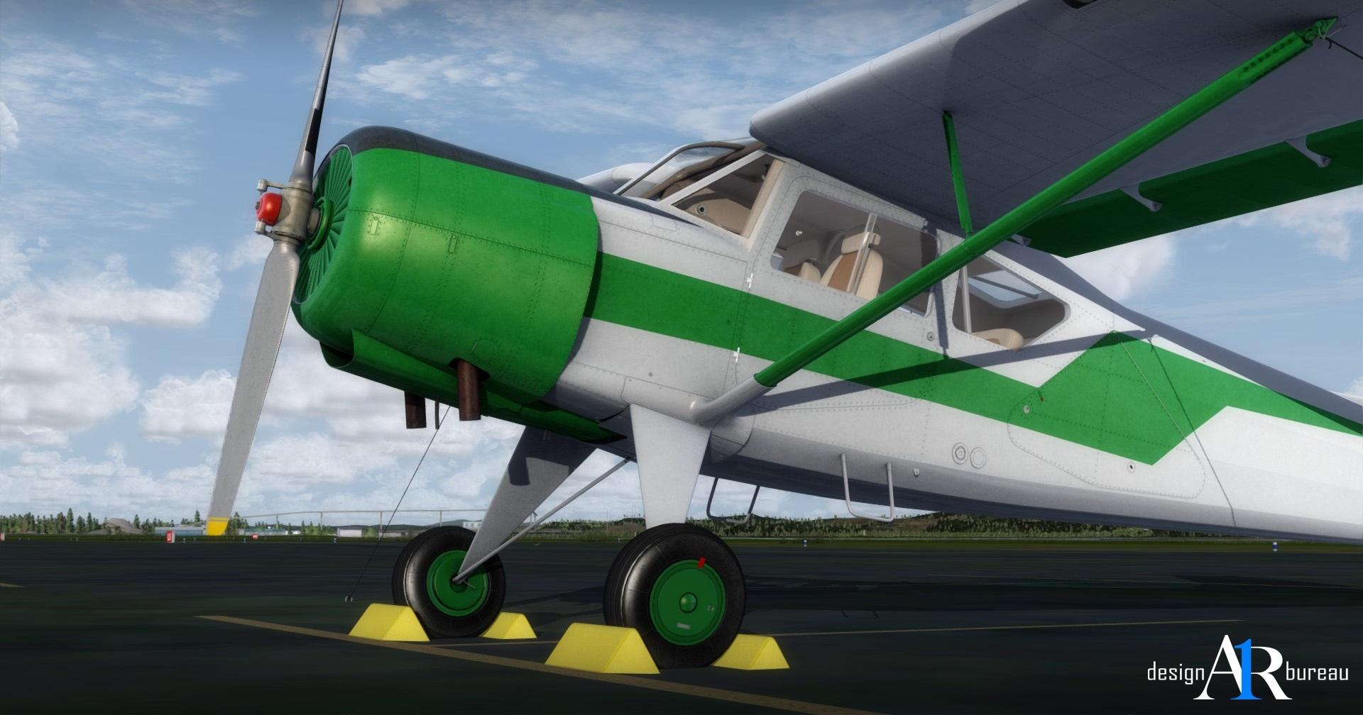 The Yak-12a by A1R Design Bureau for Prepar3D v4