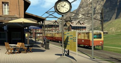 Eiger 3D: Berner Oberland Park by Frank Dainese and Fabio Bellini