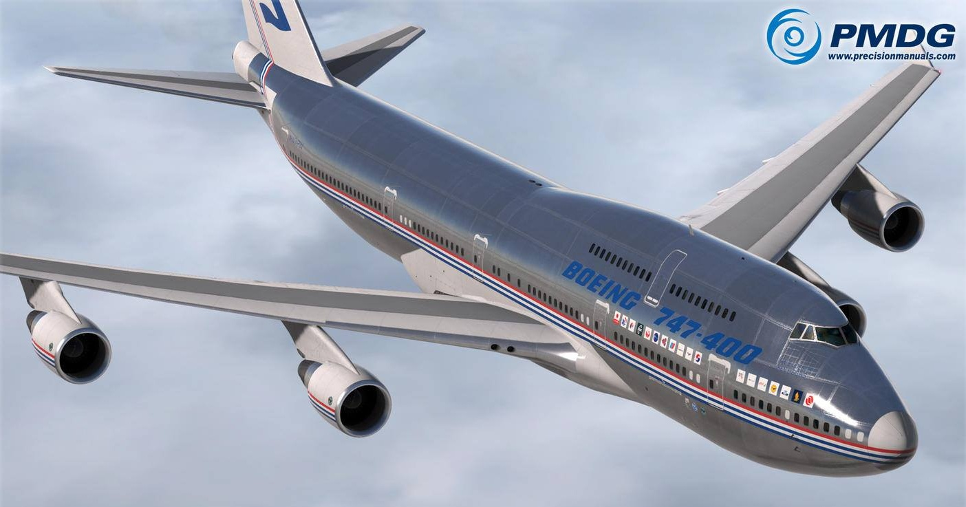 PMDG Queen of the Skies II: PBR update available