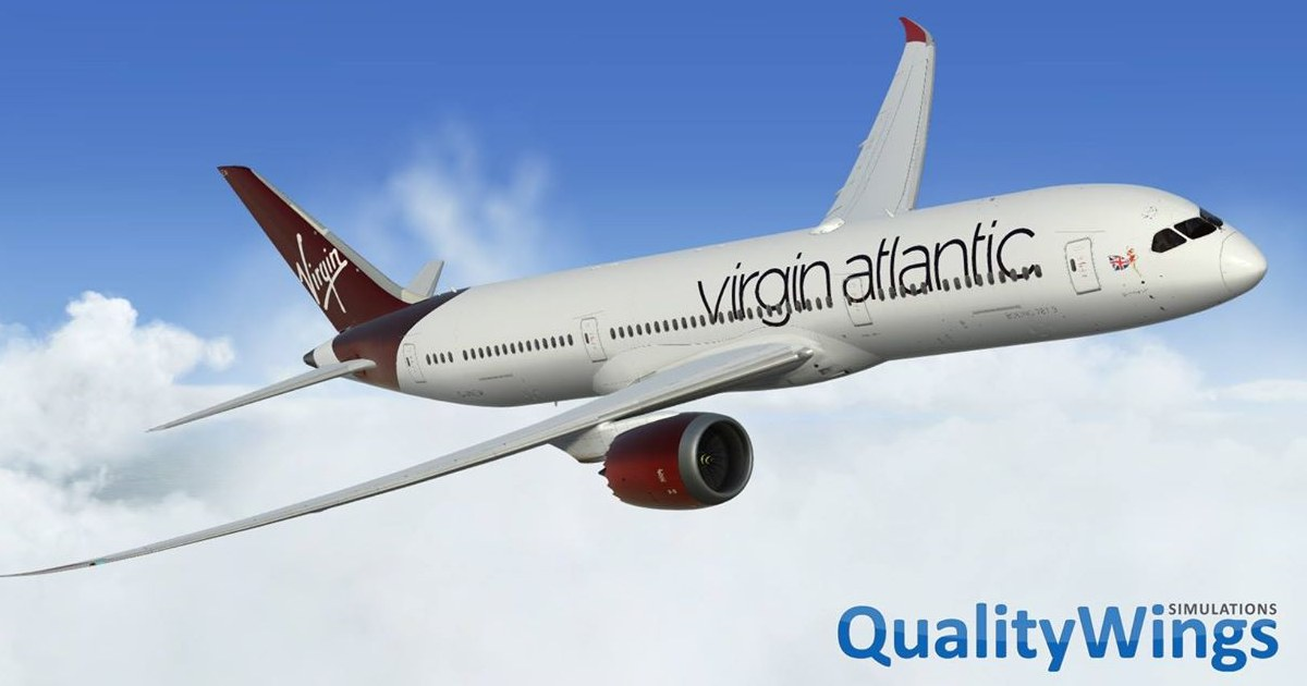 PBR Update for the QualityWings 787