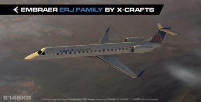 X-Crafts ERJ Family on final!