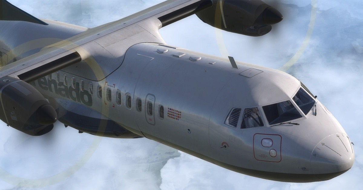 The Carenado ATR 42 for Prepar3D and FSX