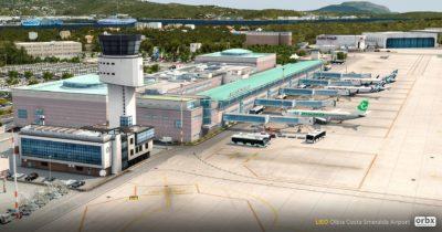 Orbx Olbia Airport released for Prepar3D v4