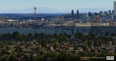 Orbx TrueEarth US Washington announced for X-Plane 11