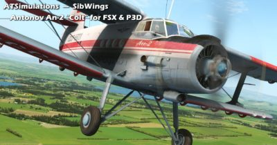 The ATSimulations An-2 has been released for FSX and Prepar3D