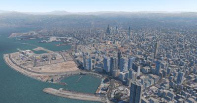 Lebor Simulations Beirut XP: Freeware for X-Plane 11