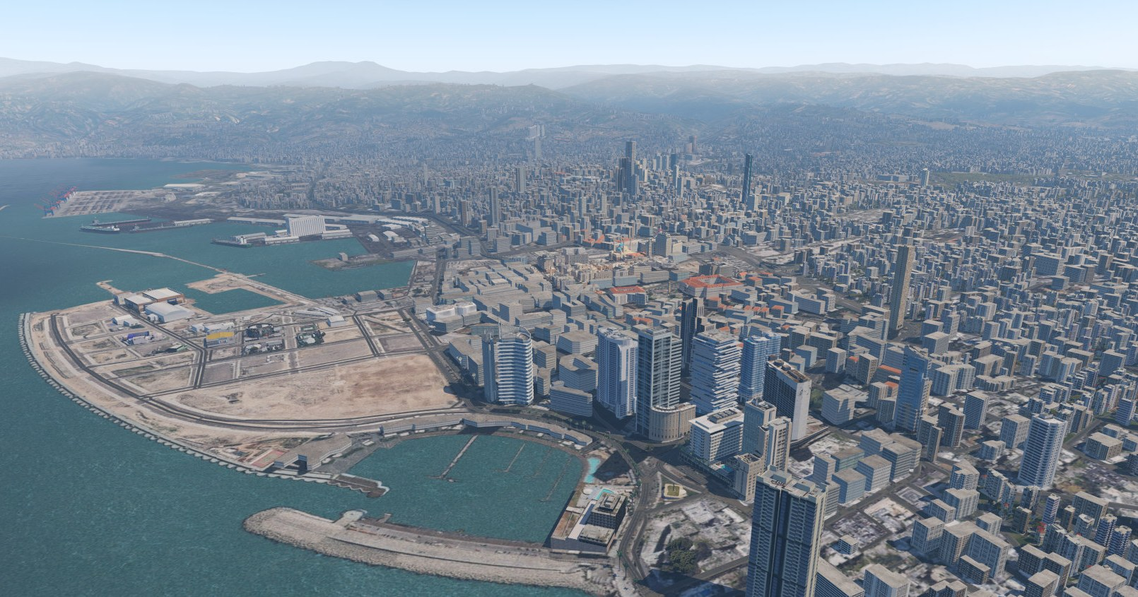 Lebor Simulations Beirut XP: Freeware for X-Plane 11
